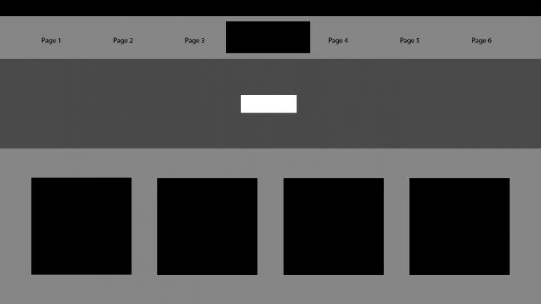 wireframe, web design